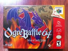 Ogre Battle 64 Person of Lordly Caliber Nintendo 64 / N64 Brand New - Near Mint