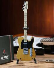 AXE HEAVEN Official Butterscotch Blonde Fender Telecaster Miniature Guitar Gift