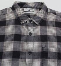 Billabong Men's Flannel Plaid Shirt Fremont Flannel M506LFRE  MEDIUM