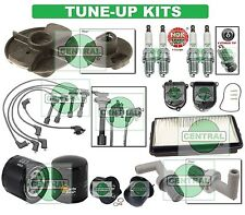 TUNE UP KIT for 92-93 ACCORD: SPARK PLUG WIRESET CAP ROTOR AIR FUEL & OIL FILTER