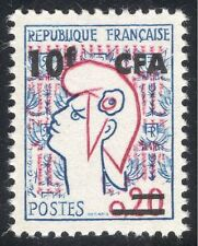 """Reunion 1966 """"Marianne""""/Animation/Art/Definitives 1v surcharge (n44281)"""