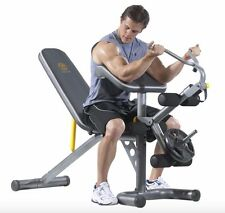 Home Exercise Equipment Machine Gym Adjustable Fitness Bench Total Body Workout