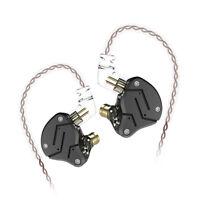 Wired In Ear Earphone KZ ZSN Hybird Super Bass Earbud Stereo Headphone Earbuds