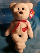 Ty Beanie Babies RARE Retired Valentino w Tag Errors PVC 1st EDITION 1993 NEW!!!