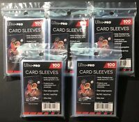 Ultra-Pro Card Sleeves 100x5 (500 count) Standard Size PENNY SLEEVES