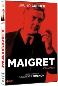 "DVD ""Maigret - Volume 5"" -Bruno Cremer   NEUF SOUS BLISTER"