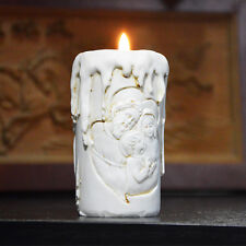 JM Catholic holy family of three silicone candle molds silicone molds for soap