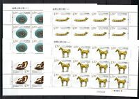 CHINA 2018-11 絲綢之路文物 Full S/S Cultural Relics along Silk Road I Stamps