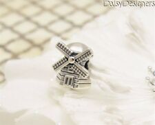 NEW Authentic PANDORA Sterling Silver WINDMILL Charm 791297 RETIRED