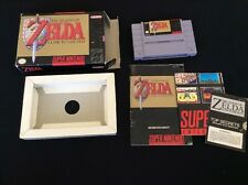 The Legend of Zelda A Link To The Past Game Complete Super Nintendo SNES CIB