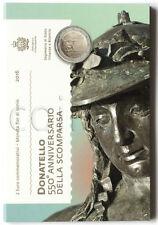 San Marino 2 euro 2016 Donatello UNC (#2535)