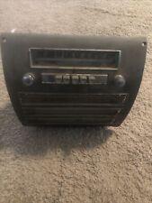 1951, 1952 Plymouth Radio
