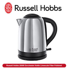 NEW Russell Hobbs 20095 Dorchester Kettle Limescale Filter 3000 Watt Polished