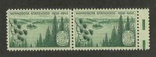 US 1106 @ (1958) EFO: Guttersnipe w/EE dash  (Minnesota Statehood)
