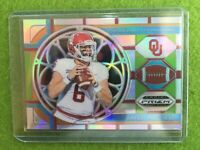 BAKER MAYFIELD REFRACTOR SILVER SP PRIZM JERSEY #6 BROWNS 2019 Prizm Draft Picks