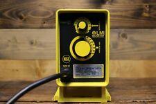 Lmimilton Roy Chemical Metering Pump 21 Gph 150 Psi 120 Vac