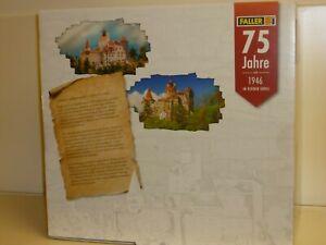 """Faller  HO: 130820 - """"Schloss Bran"""" - Jubiläumsmodell - Bausatz, Neu und OVP"""