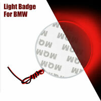 rossa LED Lamp 82mm 4D Badge Emblem Logo Adesivo chiaro AutoDecorazione per BMW