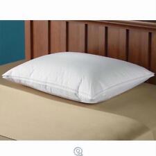 King Size European Goose Down Pillow Medium Density 20x36 White 25 Oz