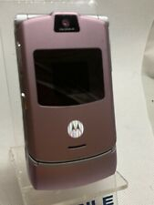 Motorola RAZR V3 - Light Pink Silver (Unlocked) Mobile Phone