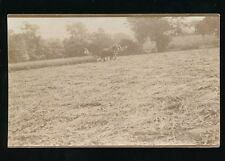 FARMING cutting the crop social history Used 1910 RP PPC