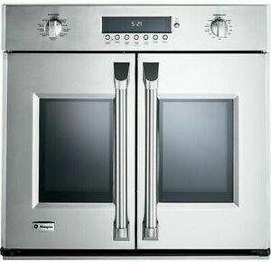 "GE Monogram ZET1FHSS 30"" Smart Built-in French Door Convection Oven (Stainless)"