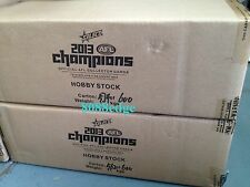 2013 SELECT AFL CHAMPIONS FACTORY SEALED CASE (12 BOXES) - FREE SHIPPING/PICK UP