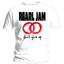 Pearl Jam 'Don't Give Up' (White) T-Shirt - NEW & OFFICIAL!
