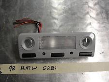 OEM 98 BMW 525i INTERIOR COURTESY DOME MAP READING LIGHT GRAY #8369511