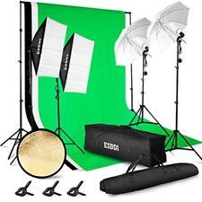 Kit De Iluminacion Profesional Portatil Para Fotografia Y Video Foto Estudio