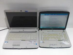 """Acer Aspire 7720 17""""  2GB 160GB & Acer Aspire 5315 1GB 80GB - laptop joblot"""