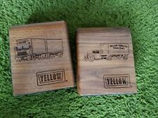 Yellow Trucking Book Ends (Used)