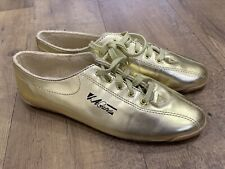 Vintage 1992 La Gear Sneakers 6.5 Gold Lace Up Workout Ii