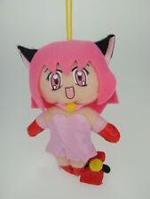Japanese Anime Hot Sexy Cat Girl Woman Figure Fluff Plush DOLL Phone Charm Strap