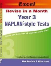 Excel Revise in a Month NAPLAN-Style Tests Year 3 9781741252071 FREE SHIPPING!