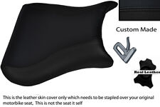 BLACK CUSTOM FITS DUCATI 748 916 996 998 LEATHER SEAT COVER