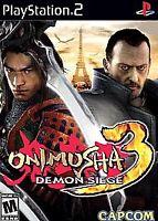 Onimusha 3: Demon Siege (Sony PlayStation 2, 2004) COMPLETE CAPCOM FAST SHIP PS2