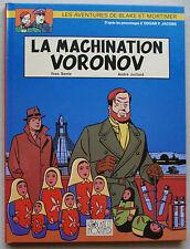Blake et Mortimer La Machination Voronov SENTE & JUILLARD éd Blake & M janv 2000