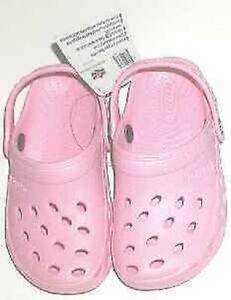 Bimini Bay Marlin Clog Shoes Child Pink Size 1/2 1697
