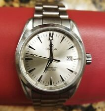 Omega Seamaster Aqua Terra Quartz 2518.30.00 Wrist Watch for Men