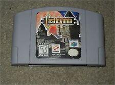 ***CASTLEVANIA N64 NINTENDO 64 GAME***