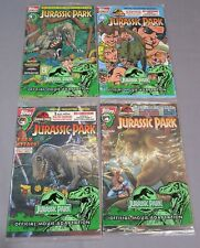 JURASSIC PARK #1 2 3 4 (Full Run 1-4) Factory Sealed w/ Cards Topps Comics 1993