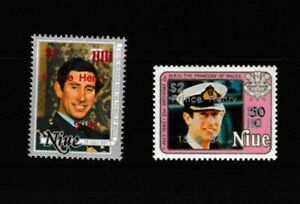 Niue:1984:Birth of Prince Henry.Set.MNH