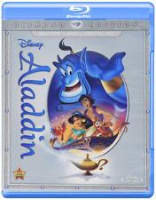 Aladdin: Diamond Edition Disney Movie Blu-Ray & DVD Robin Williams NEW