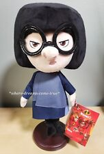 "Disney Parks Edna Mode The Incredibles 2 Plush Doll 12"" (NEW)"