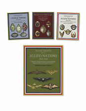 WWI Aviation - Central Powers & Allies Flight Badges (1914-1918), 4 Book Set