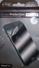 i Frogz Screen Protection APPLE iPhone 4 4GS Ultra-Durable Privacy S21