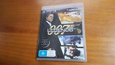 007 Legends James Bond PS3 Game