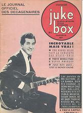 JUKE BOX 087 (1/1/64) MARC ARYAN DISTEL PRESLEY JOHNNY HALLYDAY COGOI ANTHONY