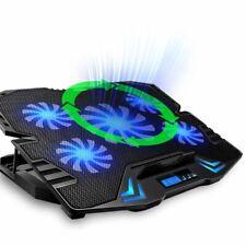 """TopMate Basi di Raffreddamento Per PC Portatili 10""""/15.6"""" con USB - Nero/Blu (FX-0021IT)"""